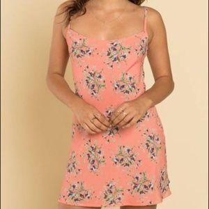 Flynn Skye Molly Pink Floral Mini Dress